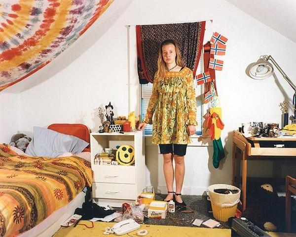 Комнаты подростков 1990-х годов: фотографии Adrienne Salinger комната, США, молодежь, длиннота, длиннопост