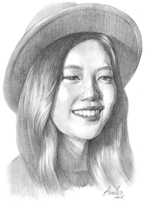 Joy (Джой), Red Velvet Рисунок, Портрет, Азиатка, Joy, Red velvet, k-Pop