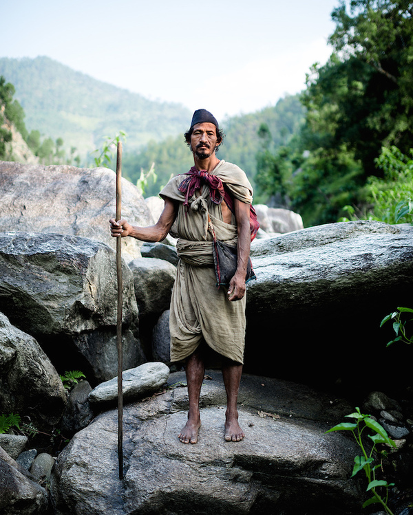 Последнее племя охотников-собирателей в Гималаях Длиннопост, Рауте, Племя, Гималаи, Непал