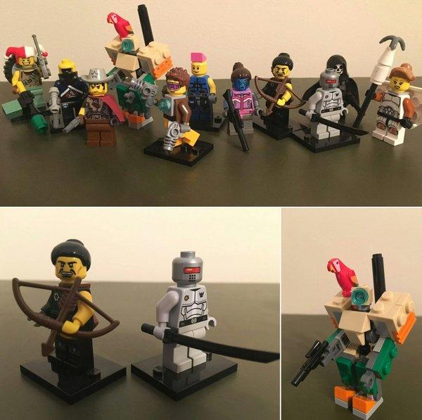 Лего-герои из Overwatch.