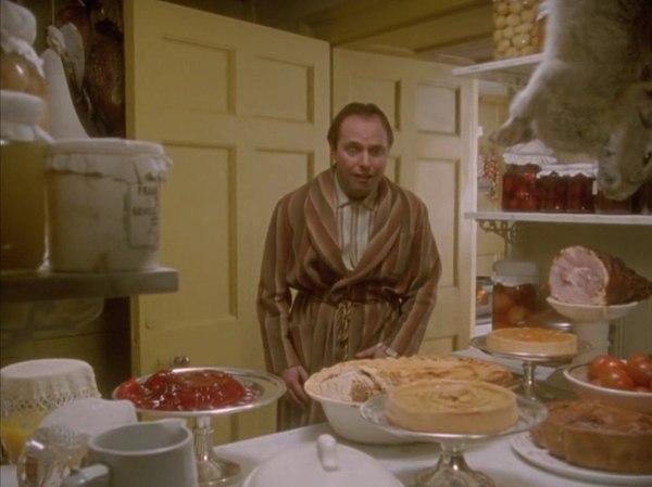 Когда остался один дома с полным холодильником Дживс и Вустер, еда, голод, юмор, Картинки, длиннопост