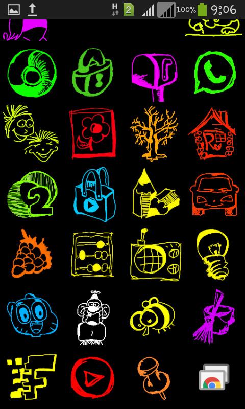 Иконки для Андроид под оболочкой Виндоус * Иконки, Windows 8, Рисунок, Моё, Длиннопост