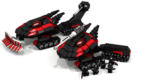 Lego Tiberium wars. Lego, LDD, Lego Digital Designer, Tiberium wars, Длиннопост