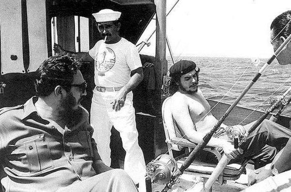 Фидель Кастро -  фотографии из жизни Фидель Кастро, Фотографии из Жизни, Че Гевара, Гагарин, 20 век, длиннопост