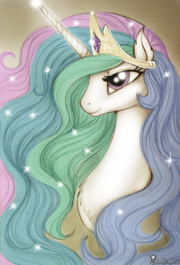 Принцесса Тия my little pony, Princess Celestia