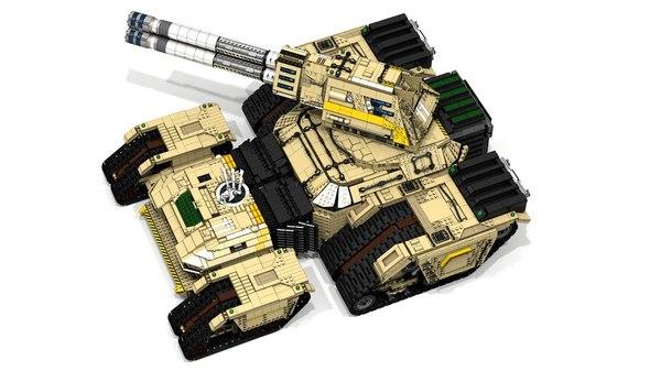 Размер имеет значение! LDD, Lego, Tiberium wars, Lego digital designer, Длиннопост