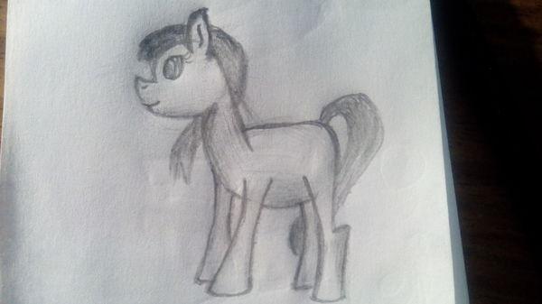 Ещё одна пони My little pony, Рисунок