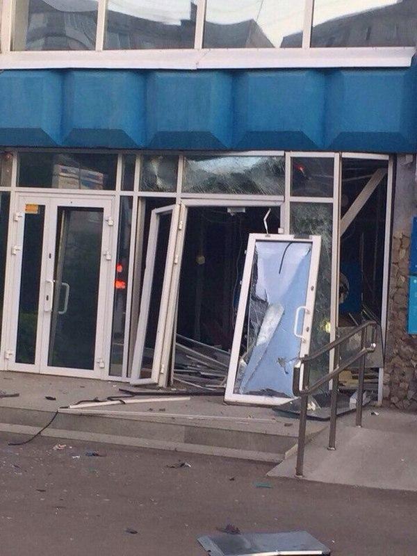 В Уфе взорвали банк Открытие Банк, Открытие, Взрыв, Ограбление, Длиннопост
