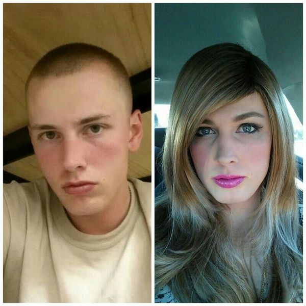 фото с макияжем и без макияжа