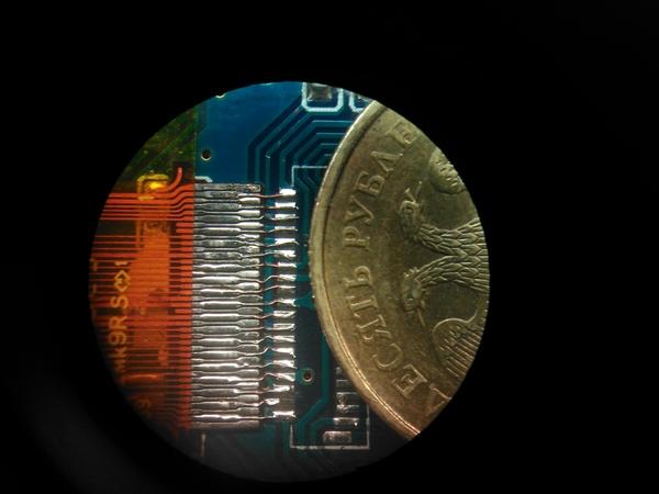С микроскопом это просто. Рукожоп, Микроскоп, Паяльник, Длиннопост