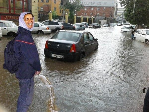 В Рязани прошли дожди... Рязань, Фотошоп мастер, Фотожаба, Своя атмосфера, Длиннопост, Политика, Юмор