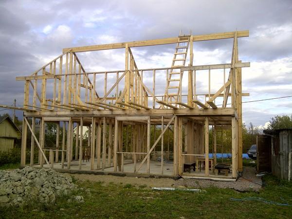 Как построить каркасный дом на ушп
