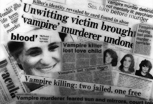 Трейси Аврил Виггинтон, также известная как «Вампир лесбиянка-убийца» Жесть, Вампиры, Девушки, Убийство, Убийца, Интересное, Длиннопост, Картинки