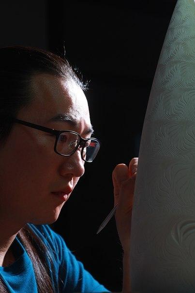 Глиняные скульптуры Jong-Min Lee Дизайн, Восток, Глина, Скульптура, Jong-Min Lee, IDL, Длиннопост