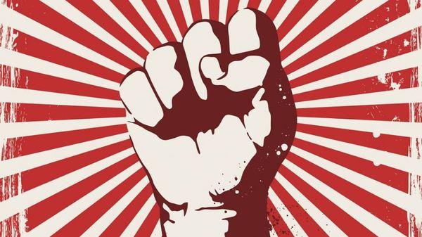 Кто там шагает правой? Левой!Левой! Политика, Социализм, Коммунизм, СССР, Капитализм, Антифашизм
