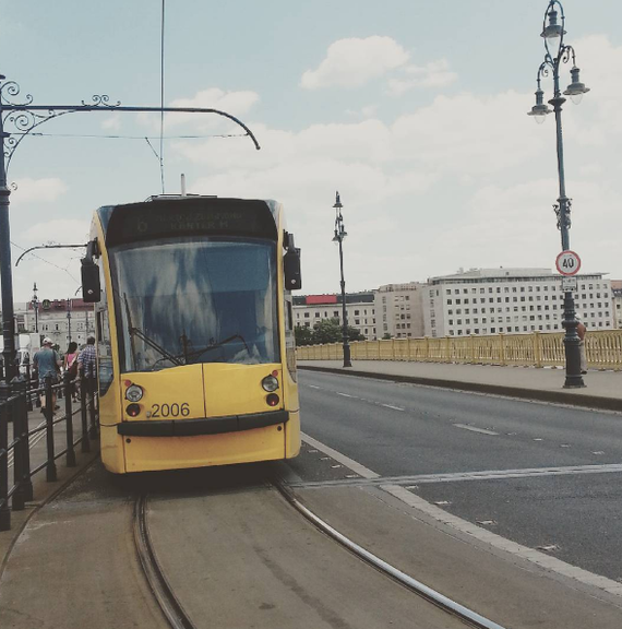 Дерзкий трамвайчик. Будапешт
