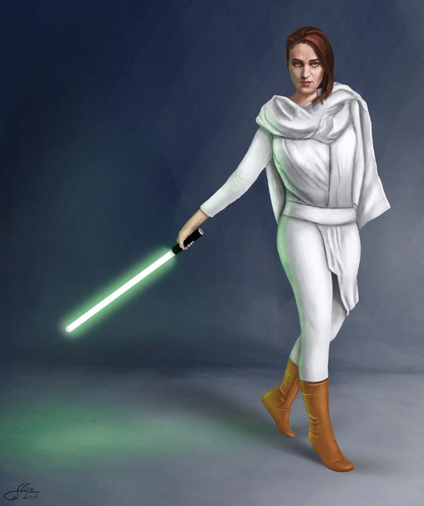 May the Force be with you Star wars, Цифровой рисунок, Гифка, Анимация, Вторая рука за спиной