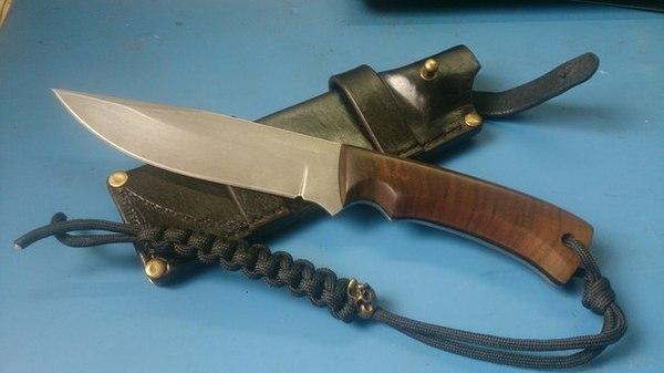 Легкий тюнинг ножа Нож, Ножеделы, Своими руками, Длиннопост