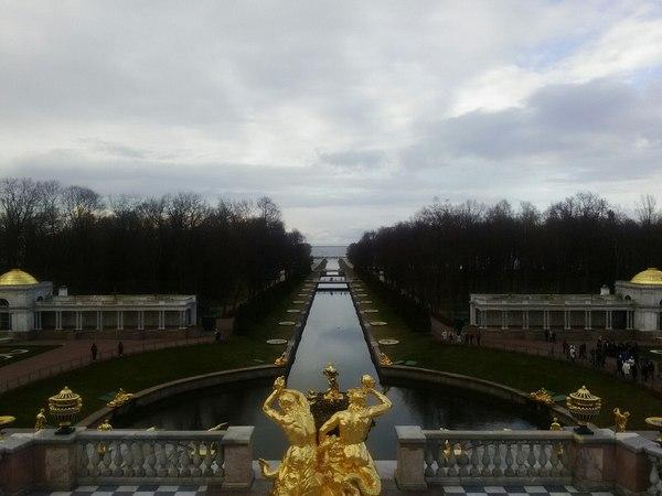 """Волна бежит на этот берег"" или немножко Питера. Санкт-Петербург, Фото, Небо, Длиннопост"