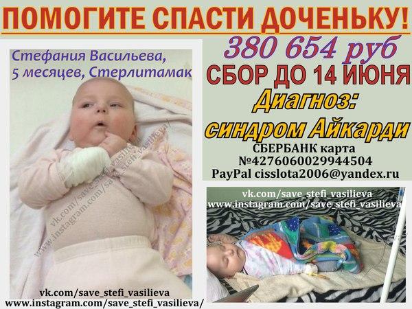 Нужна помощь.... Благотворительность, Помощь, Длиннопост, Стефания