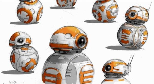 Концепт-арты Пробуждения Силы. Часть третья: BB-8, техника и Джакку Star wars, Джакку, Bb-8, TIE Fighter, Длиннопост