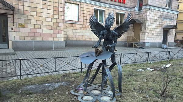 Зубная фея Статуя, Современное искусство, Санкт-Петербург, Фото, Зубная фея, Моё