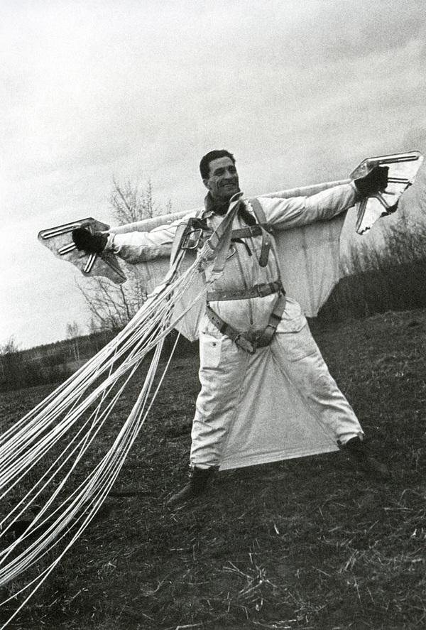 Испытатель парашютов, Ростовский аэроклуб, 1935 год, СССР