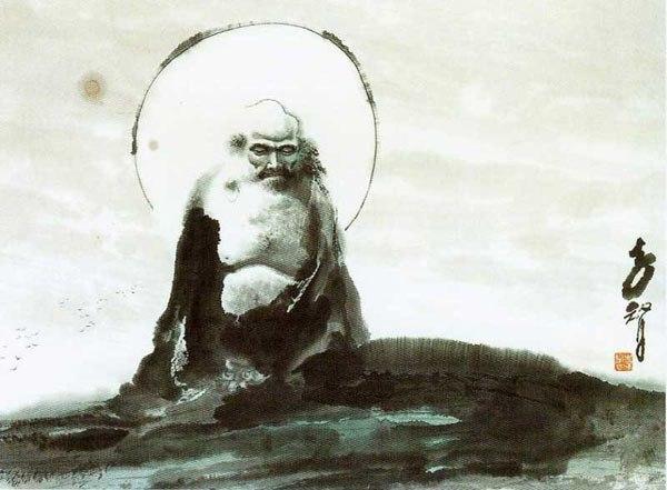 Почему Бодхидхарма пришел с Запада? Дзен, буддизм, длиннопост, Бодхидхарма