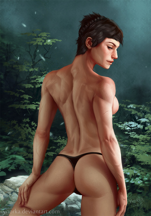 Cassandra ynorka, крепкая девушка, dragon age, cassandra
