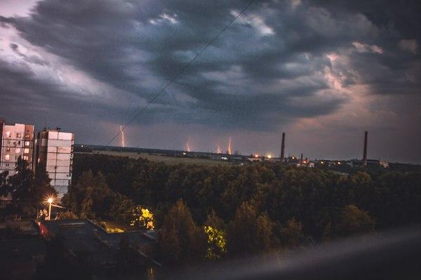 Донецк. Непогода