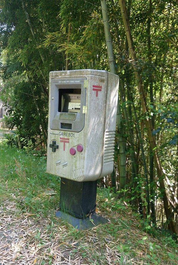 Даже почтовые ящики в Японии выглядят необычно Япония, Почтовый ящик, Арт, Длиннопост, Почта