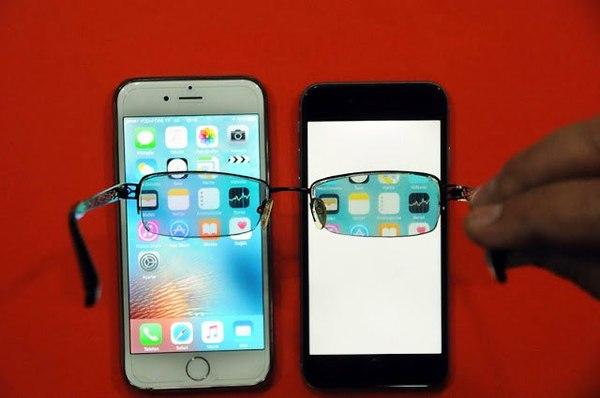 Изобретатель из Турции создал защиту от любителей подглядывать в экран смартфона. Смартфон, Очки, Bluetooth