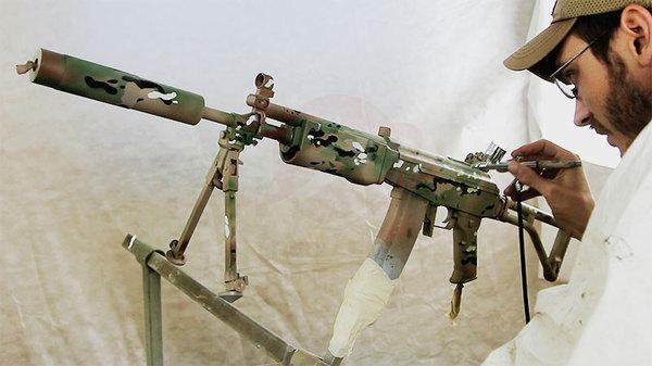 Покраска оружия в расцветку Multicam Redarmyairsoft, Страйкбол, Multicam, Покраска, Airsoft, Оружие, Мастер-Класс, Видео, Длиннопост