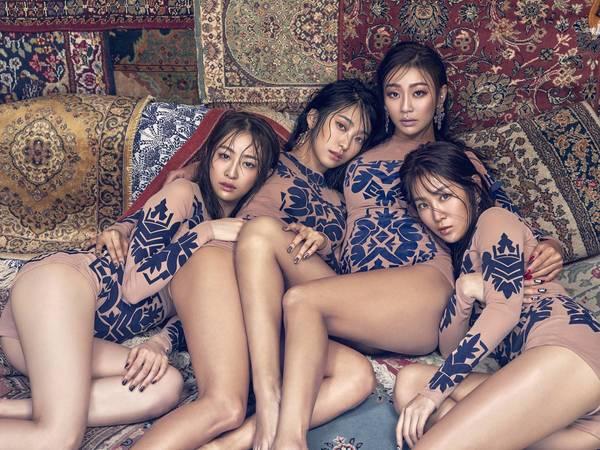 Вспотевшие сексуальные девочки