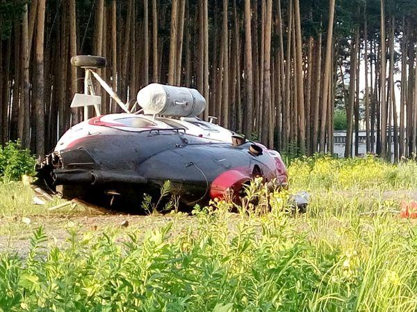 В Екатеринбурге упал вертолет. Упал, и не взорвался. Это вообще законно?