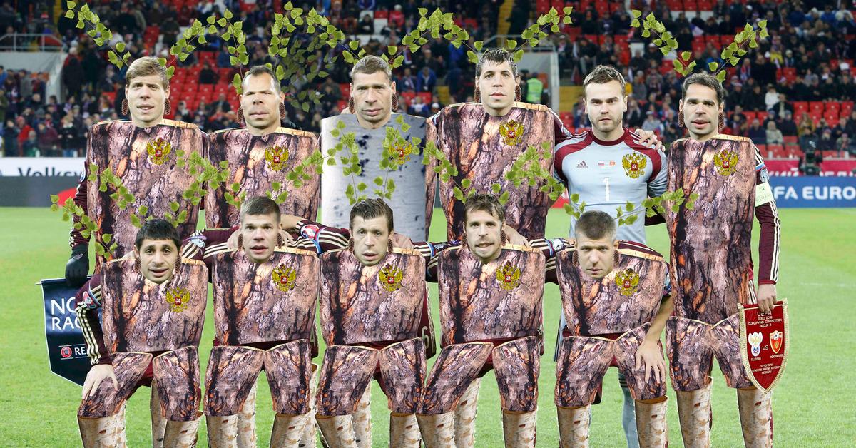 массу фотожаба футбол россия самых больших