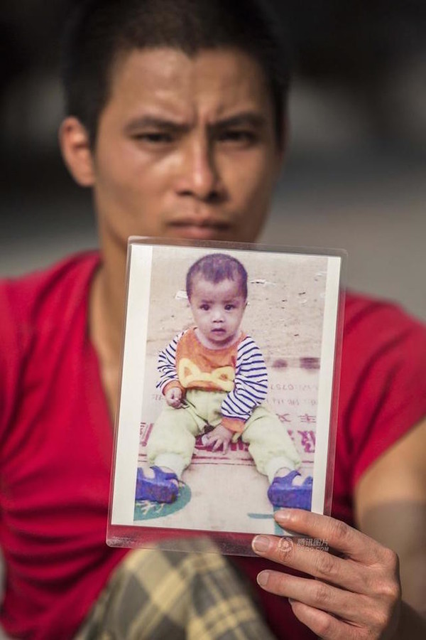 «Я никогда не брошу поиски». Мужчина с инвалидностью путешествует по Китаю в поисках своего сына Китай, Отец, длиннопост