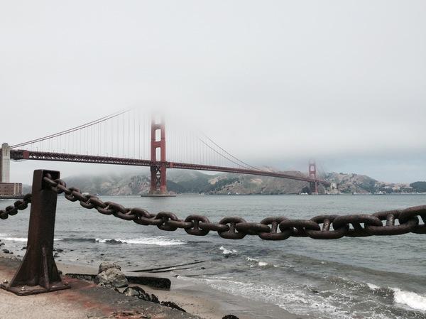 Сан-Франциско, Золотые ворота.