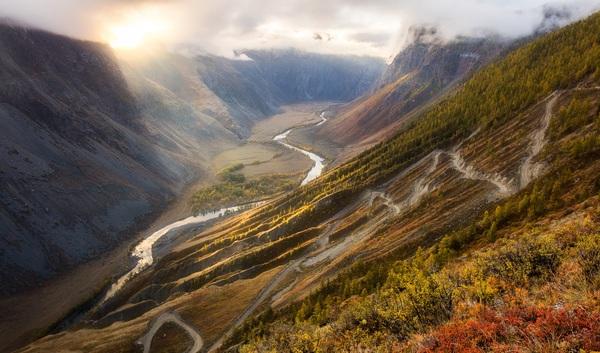 На перевале... Перевал, Природа, Горы, Длиннопост