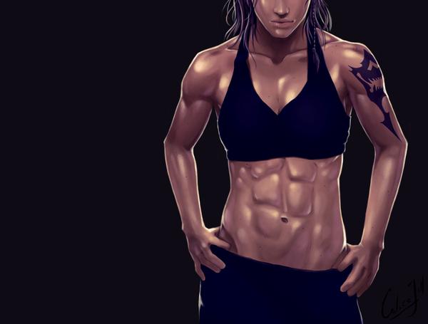 Lightning Farron + Oerba Yun Fang calicoJill, крепкая девушка, yuri, Final fantasy, Final fantasy XIII, lightning, Oerba, арт, длиннопост