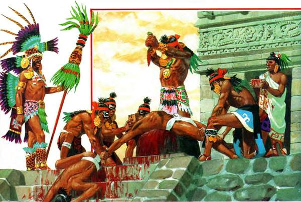 mayan sacrifice ceremony - 800×547