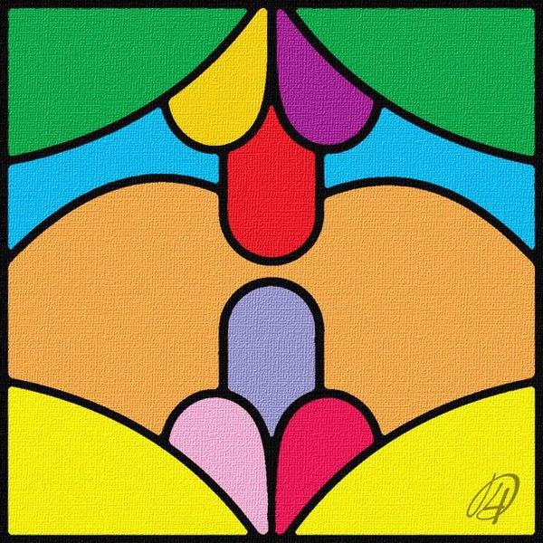 Картина символизирует всю двойственность этого мира и дуализм его восприятия