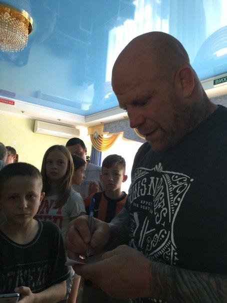 Джефф Монсон (двухкратный чемпион WWC и чемпион мира по джиу джитсу) посетил Донбасс Джефф Монсон, Россия, Украина, ДНР, Спорт, Длиннопост