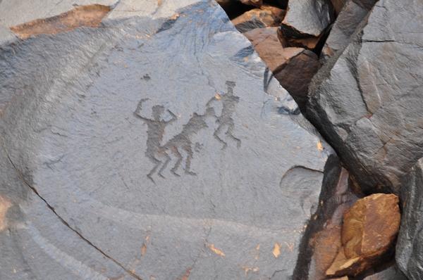 Секс пещерных людей в наскальных рисунках