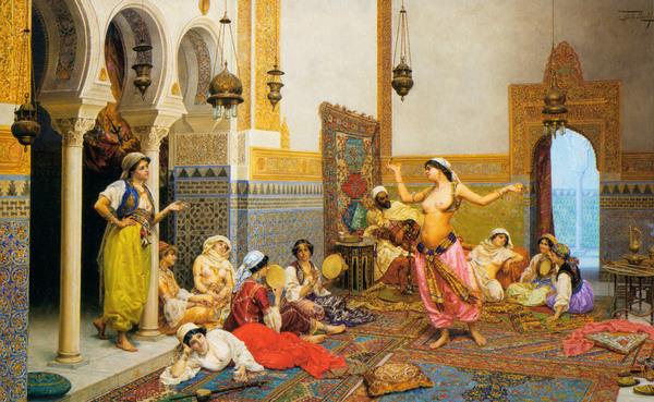 Видео секс в гареме султан трахает всех своих жён подряд