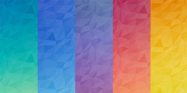 Часть 1: Бесплатные полигональные бекграунды и текстуры Халява, Бэкграунды, Ui, Ux, Дизайн, Длиннопост