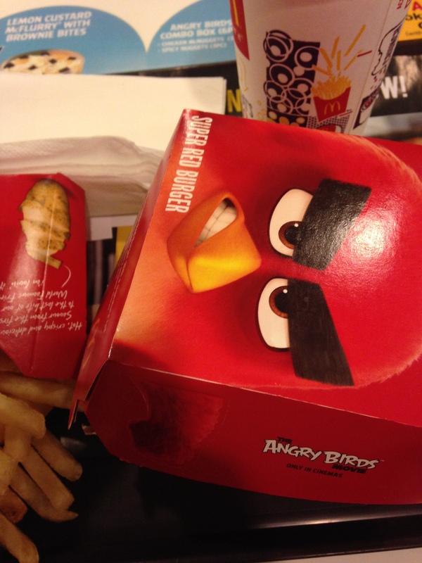 Макдональдс может в черный юмор Макдоналдс, Angry Birds, Черный юмор, Длиннопост