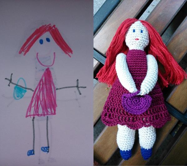 Получила ТЗ от ребенка Своими руками, Кукла, Моё, Техническое задание