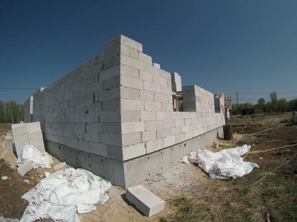 Дом из газобетона. 1-этаж (часть 2) Строительство, дом, Газобетон, длиннопост