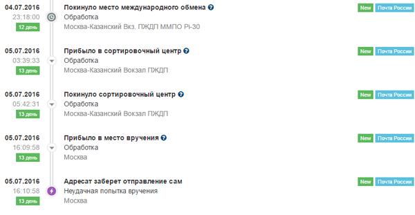 Почта России... такая почта... Моё, Почта России, Доставка, Посылка